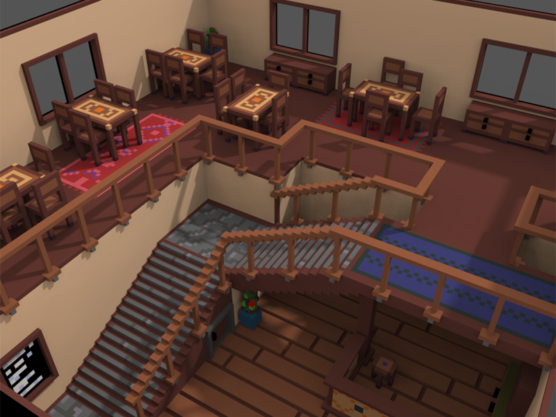 A look inside the Tavern